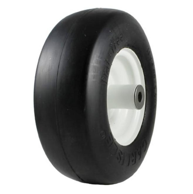 11x4.00-5 Carlisle Smooth Flat Free Tire & Wheel