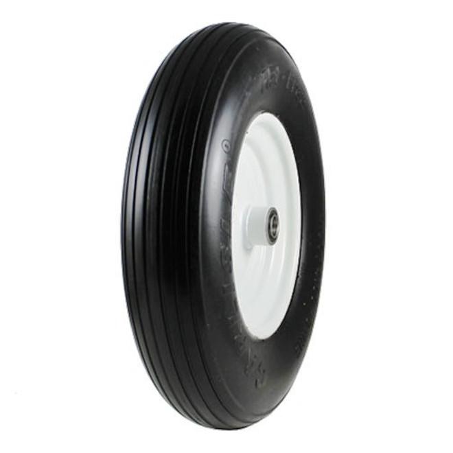 4.80-8 Carlisle Rib Flat Free Tire & Wheel
