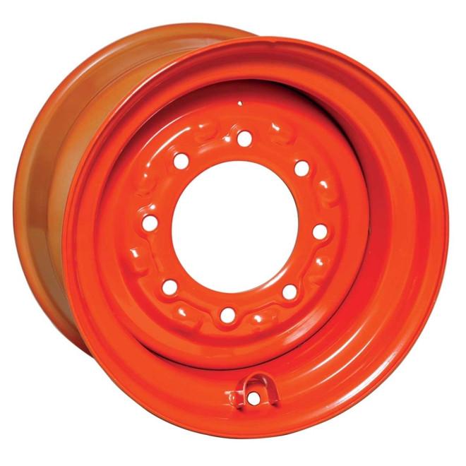 16.5x9.75 Bobcat Wheel with TR-501 Valve Stem,  Fits 12-16.5 Tire