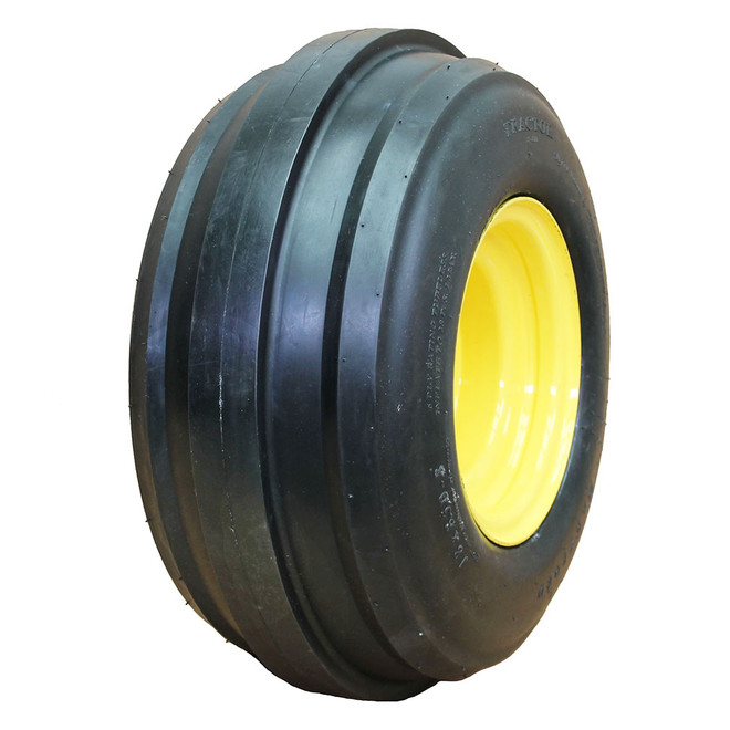 18x8.50-8 Hartford 3-Rib Front Tractor Tire 6 ply