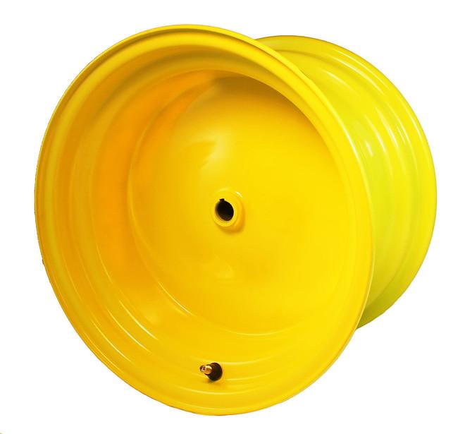 "12x 7.5 Yellow Wheel, 3.5"" hub, 3/4"" Bore"