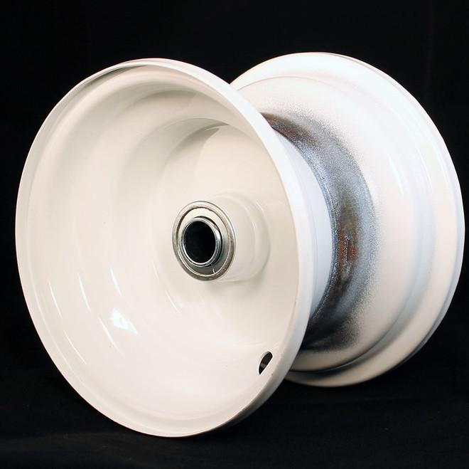 """6x4.5 Steel Wheel, 3.25"""" hub, 3/4"""" Bearing"""