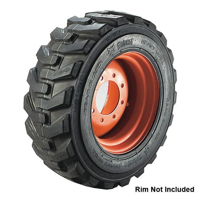 23x8.50-12 Bobcat Loader w/ Rim Guard Compact Tractor Tire 6 ply