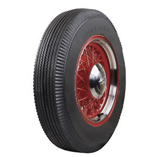 6.00-16 Firestone Hwy Blackwall Tire 4 Ply