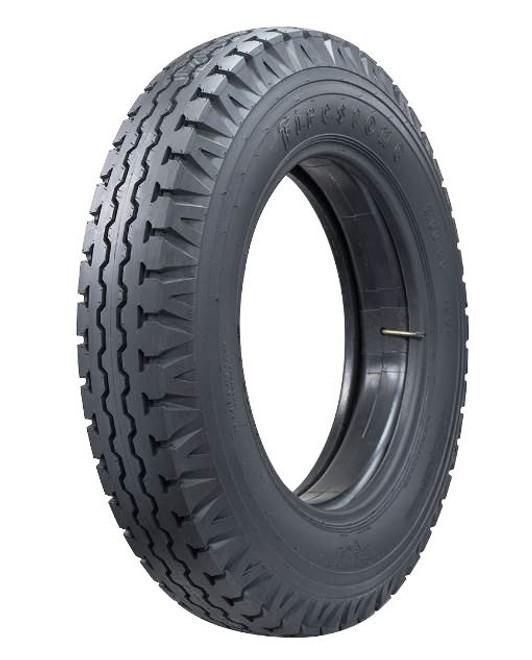 6.50-20 Firestone Truck Hwy Rib Truck Tire 6 Ply