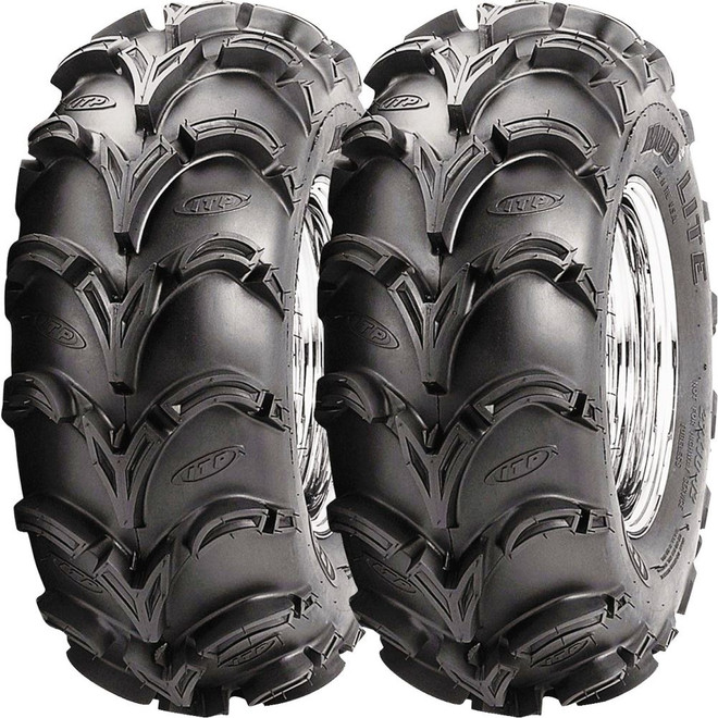 Set of 2 ITP Mud Lite AT Front Tires 23x8-10 6-ply