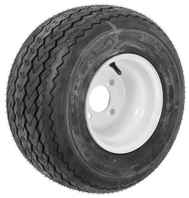 18x8.50-8 Kenda Hole-N-1 Tire & 4 Hole Wheel