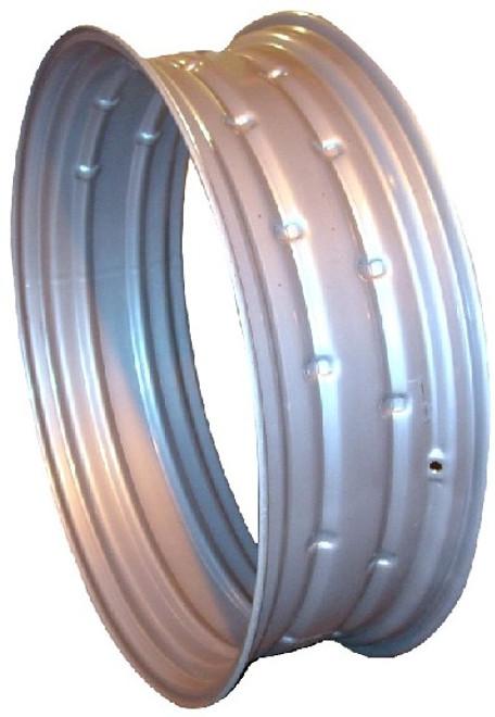 34x16  Double Bevel Rim Silver