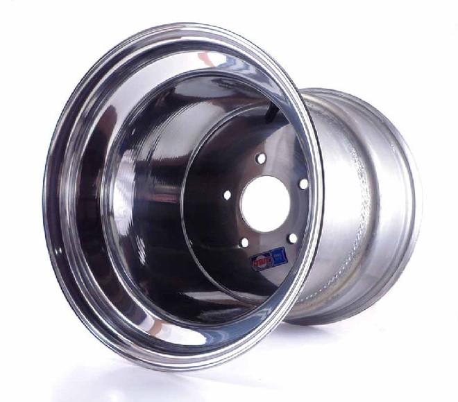 12x12 5-Hole Aluminum Wheel, 4/8 Offset