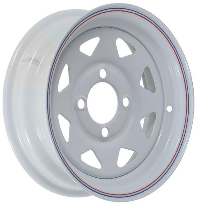 12x4  4-Hole Trailer Wheel
