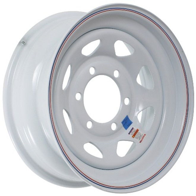 15x6  6-Hole Trailer Wheel