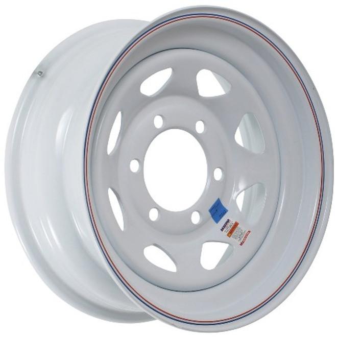 16x6 6-Hole Trailer Wheel