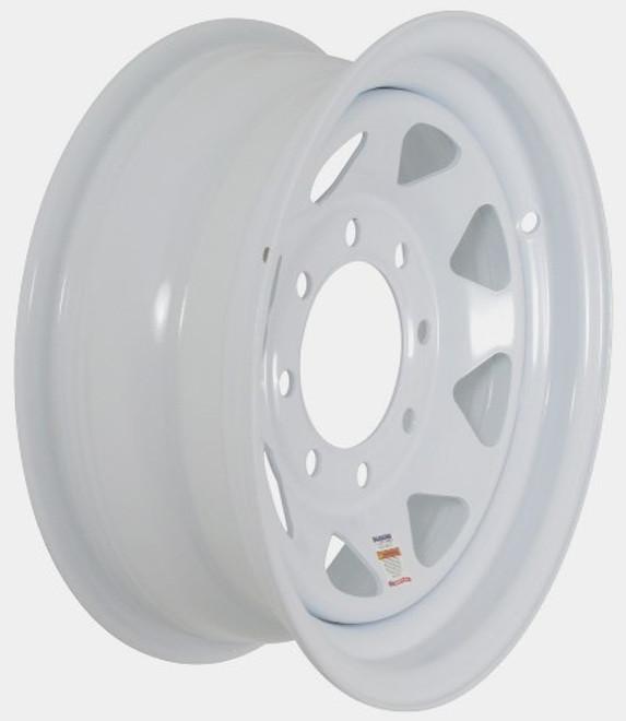 16x6 8-Hole Trailer Wheel