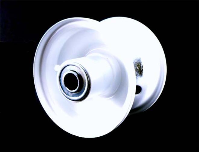 """4x2.75 Steel Wheel, 2.25"""" hub, 5/8"""" Bearing"""