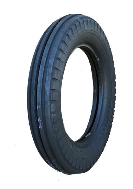 5.00-16 Firestone Original 4-Rib Front Tractor Tire 4 Ply