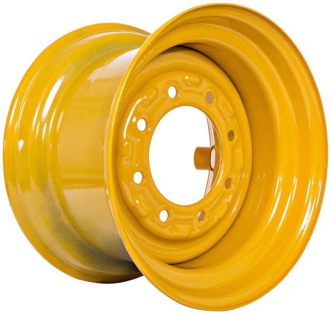 16.5x9.75 John Deere Wheel with TR501 Valve, N1012S Plug,  Fits 12-16.5 Tire
