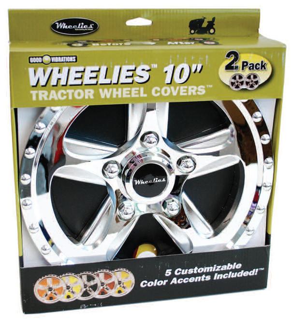 "Wheelies 10"" Wheel Covers Free Shipping"
