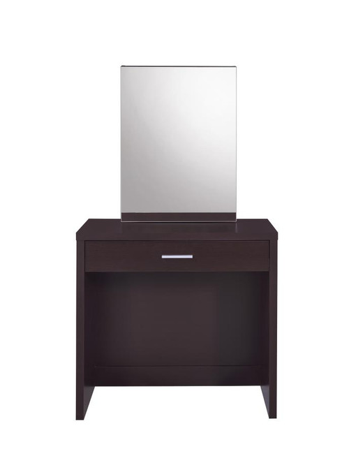Cappuccino Vanity and Storage Bench ( 300289 )