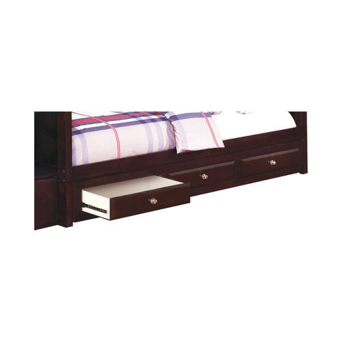 Elliott 3-Drawer Under Bed Storage Cappuccino