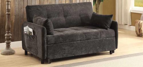 Transitional Dark Brown Sofa Bed ( 551075 )