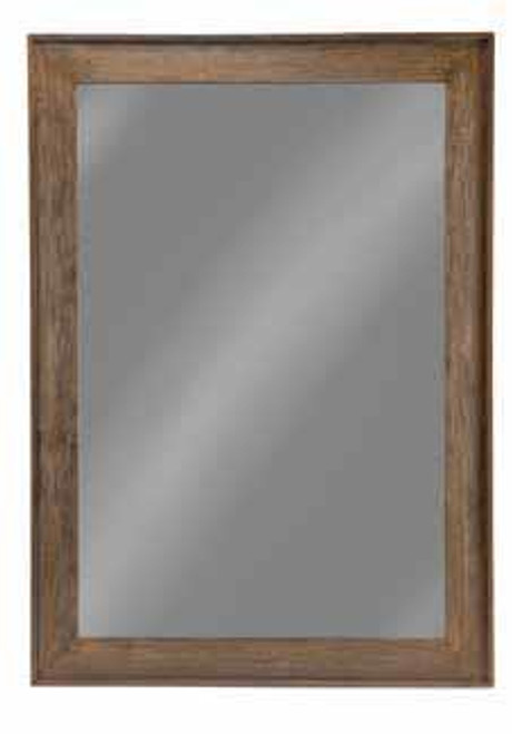 Distressed Brown Accent Mirror ( 902770 )