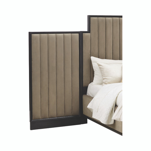 Formosa Upholstered Wing Wall Panel Camel