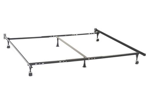 Metal Bed Frame for Queen Eastern King and California King Headboards ( 9601QK )