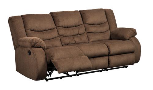 Reclining Sofa- Brown