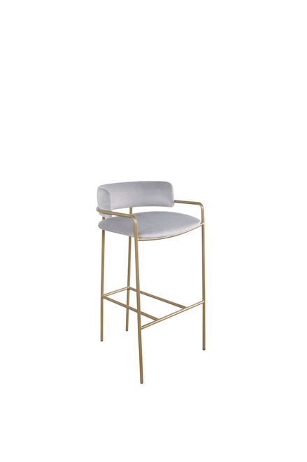 Grey - Counter Height Stool