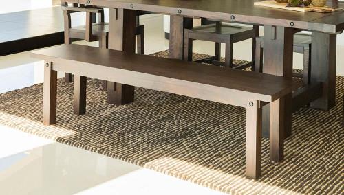 Calandra Collection - Calandra Wooden Rectangle Bench Vintage Java