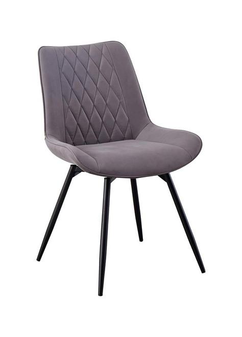 Grey - Swivel Dining Chair