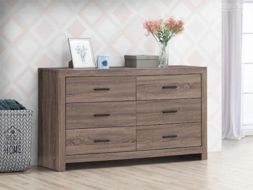 Brantford Collection - Brantford 6-drawer Dresser Barrel Oak