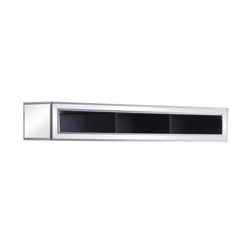 3-compartment Bridge Black Titanium And Silver