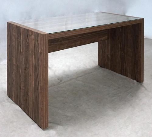 Luetta 48-inch Rectangular Writing Desk Aged Walnut