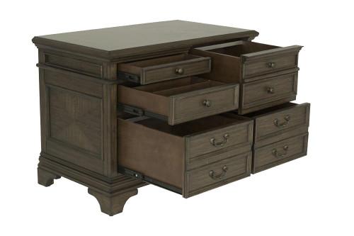 Hartshill Collection - Hartshill 5-drawer File Cabinet Burnished Oak