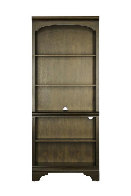 Hartshill Collection - Hartshill 5-shelf Bookcase Burnished Oak