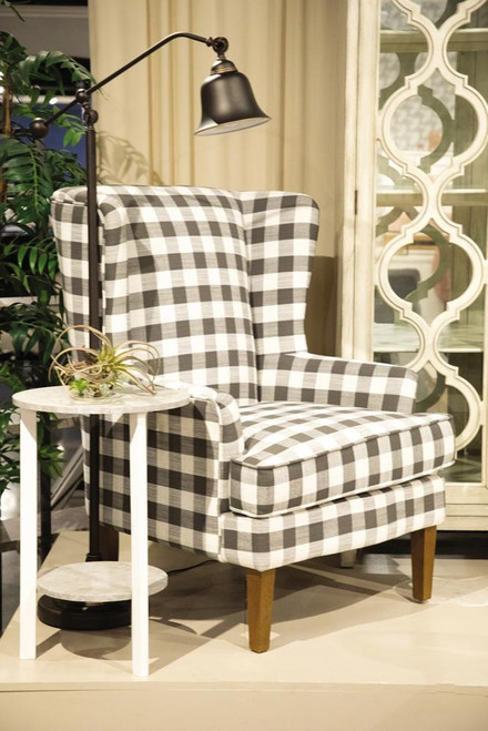 Charcoal Grey - Accent Chair