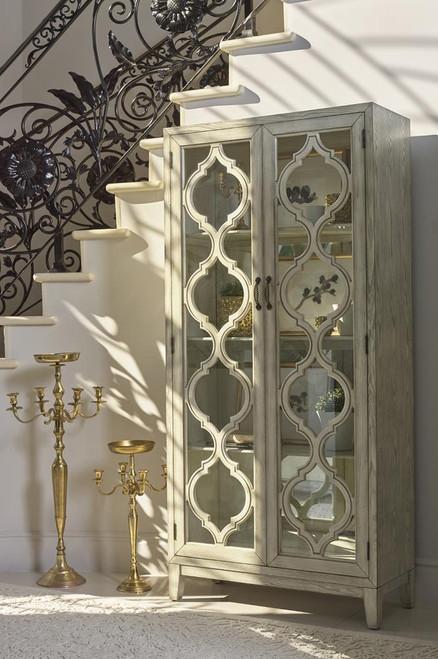 2-door Tall Cabinet Antique White