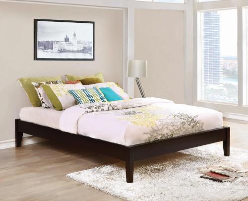 Hounslow Platform Bed - Hounslow California King Universal Platform Bed Cappuccino