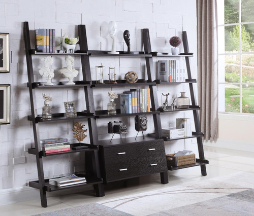 Colella Collection - 3 Pc Ladder Bookcase Set - (800319-S3)