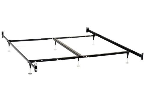 Bed Frames - California King Bed Frame Black