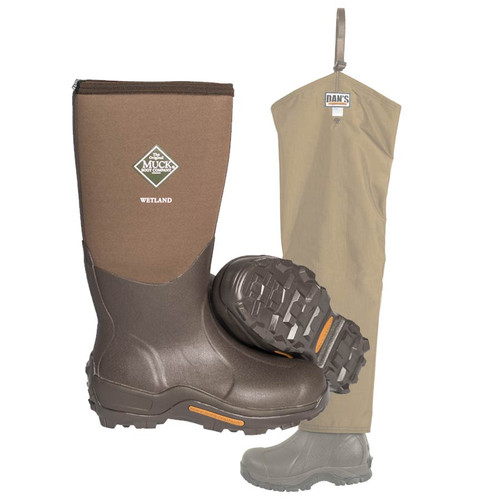 Dan's Five Star Chap with boots by Dan's Hunting Gear