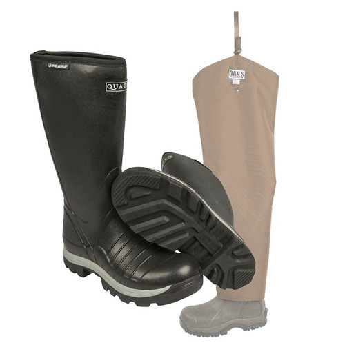Quatro Insulated with Snake Protector Chap Froglegs