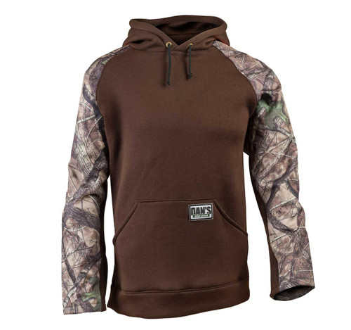 Brown/Camo Pull-over Briar Hoodie
