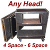 "Rack/Head Combo 3/8"" ATA Case CUSTOM for ANY Head - Shock Mount"