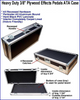"""Effects Pedal Cases - 3/8"""" Heavy Duty"""