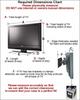 """Custom 2 in 1 Plasma LCD ATA Cases Heavy Duty 3/8"""" Ply 32"""" - 37"""""""