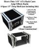 "8 Space 8u 15"" Deep 3/8"" Ply ATA Effects Rack Case"