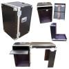 Rack - Convertable Desk ATA Case - 16 Sp Rack w/Pullout Shelf