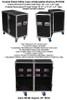 2 Sided Utility Trunk w/Adjust Shelves - ID 18x18x30 Ea Side